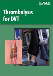 Thrombolysis for DVT - Veterans Health Library