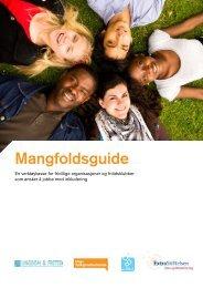 Mangfoldsguide (PDF) - Unge Funksjonshemmede