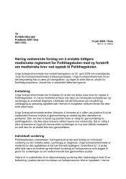 Forskrift om medisinske krav ved opptak til Politihøgskolen (PDF)