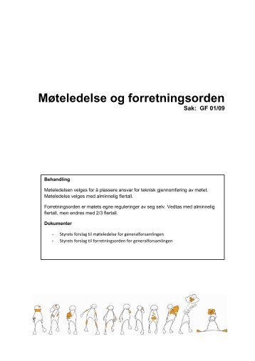 011009 OS Møteledelse og forretningsorden - Unge ...