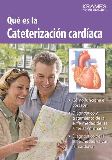 Qué es la Cateterización cardíaca - PDF Se abre una ventana nueva.