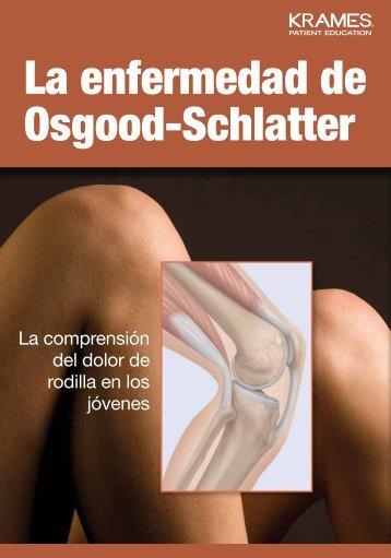 La enfermedad de Osgood-Schlatter - Veterans Health Library
