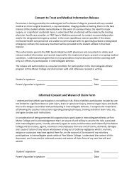 Consent Form Instructions - Pine Manor College