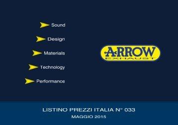 Arrow Listino prezzi Italia n.33