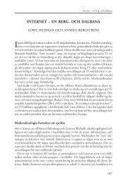 Internet – en berg- och dalbana - SOM-institutet - Göteborgs universitet