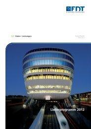 FDT Lieferprogramm 2012 - dachbaustoffe.de