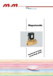 M&M International Magnetventile Katalog
