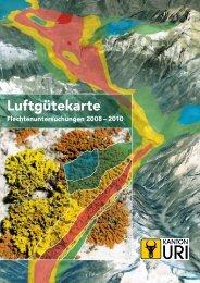 Flyer zur Flechtenuntersuchung - Kanton Uri