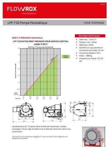 LPP-T32 Pompe Péristaltique - Flowrox