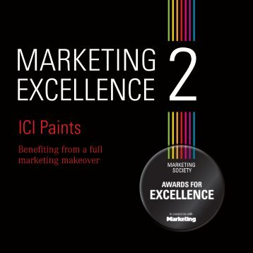 ICI Paints - The Marketing Society