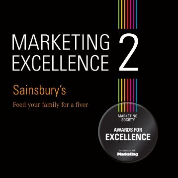 Sainsbury's - The Marketing Society
