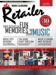 June, 2013 - Music & Sound Retailer