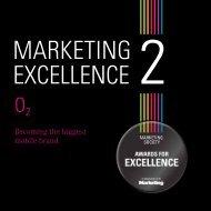 Marketing Excellence O2 case study 2011.pdf - The Marketing Society
