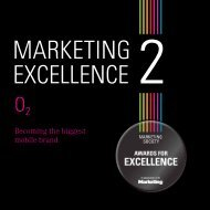 Marketing Excellence O2 case study 2011.pdf - The Marketing Society