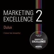 Colour me beautiful - The Marketing Society