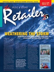 WEATHERING THE STORM - Music & Sound Retailer