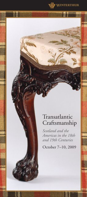 Transatlantic Craftsmanship - Winterthur