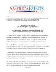 """The """"America Paints"""" campaign will highlight the ... - Winterthur"""