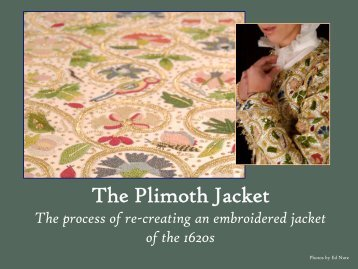 The Plimoth Jacket