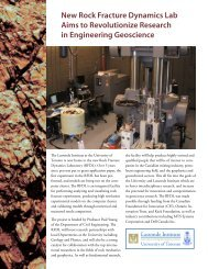RocNews 2007 - Civil Engineering - University of Toronto
