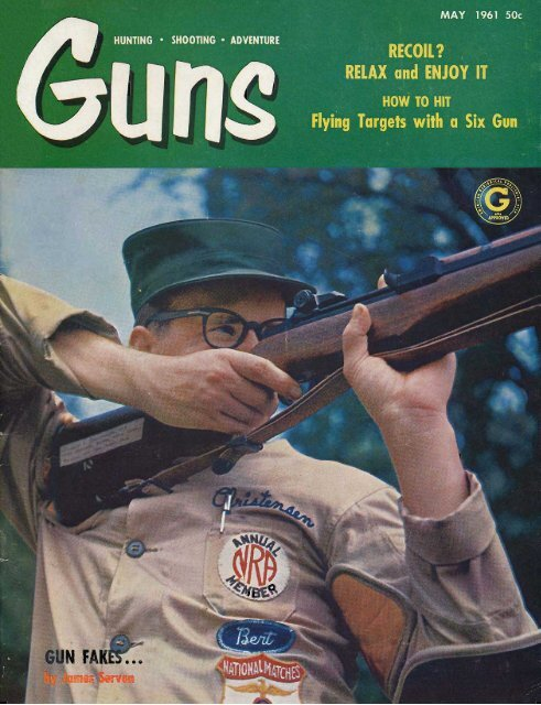 Orinda Maynard P Buehler c1963 High Power Rifles /& Access. CA.