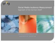 Social Media Audience Measurement