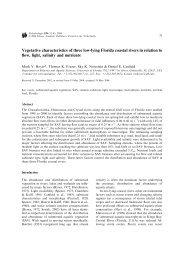 Hoyer et al. 2004 - Florida Rivers Research Lab - University of Florida