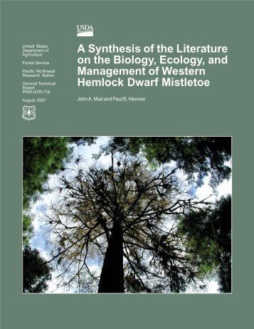 A Synthesis of the Literature on the Biology, Ecology - USDA Forest ...