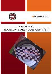 Newsletter #1 Saison 2013 – los geht´s ! - regenics eV