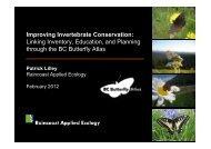 BC's Butterfly Atlas - South Coast Conservation Program