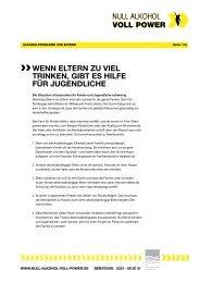 PDF Alkoholprobleme von Eltern - Null Alkohol - Voll Power