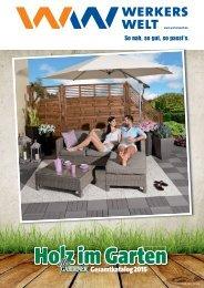 Holz-im-Garten Katalog 2015 gültig bis 31.07.2015