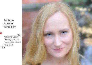 Artikel und Shortstory in der GE-Kult - Tanja Bern