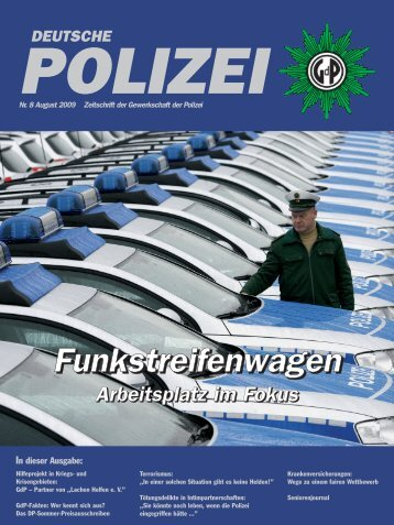 Titel August NEU.QXD (Page 1) - GdP