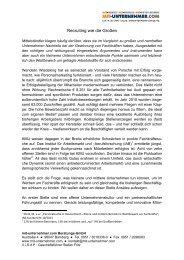Recruiting wie die Großen - mit-unternehmer.com Beratungs-GmbH