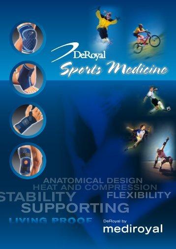 DeRoyal Sports Medicine (PDF) - Mediroyal