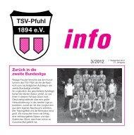Info - TSV Pfuhl 1894 eV