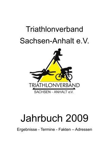 Jahrbuch des TVSA 2009 - Triathlon Verband Sachsen Anhalt eV