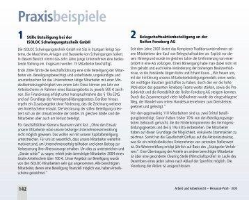 Praxisbeispiele - mit-unternehmer.com Beratungs-GmbH