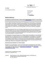 Neue Website inluft_09 2012