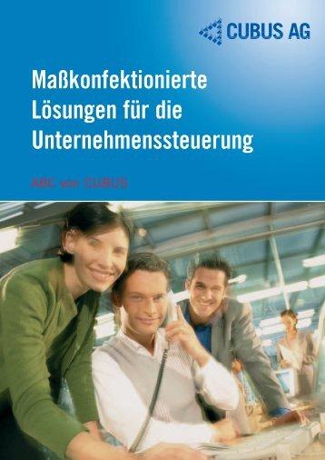 Maßkonfektionierte Lösungen für die Unternehmenssteuerung
