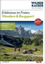 Erlebnisse im Freien. Wandern & Bergsport