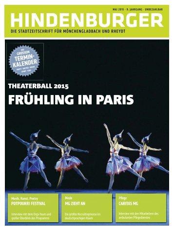 HINDENBURGER - Ausgabe Mai 2015