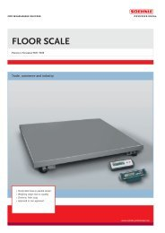 FLOOR SCALE - Soehnle Professional