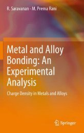 Metal and Alloy Bonding - An Experimental Analysis: Charge ...