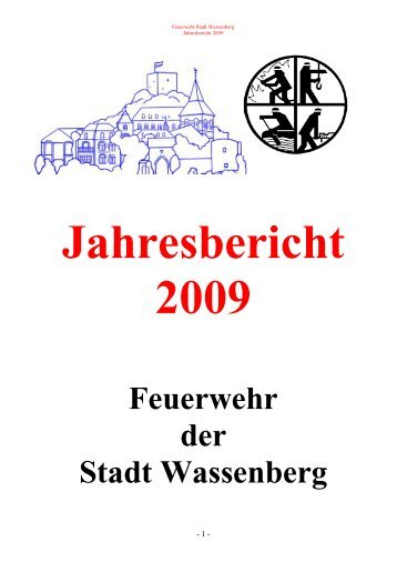 jahresbericht 2009 - Freiwillige Feuerwehr der Stadt Wassenberg