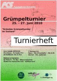 Turnierreglement - FC Schüpfen