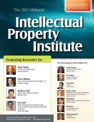 Download 2013 MN CLE brochure - Eastern District of Texas ...