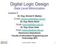 Digital Logic Design Gate Level Minimization - Faculty of Information ...