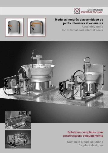 Folie 1 - OHRMANN Montagetechnik